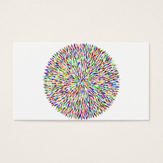 Color ball business card