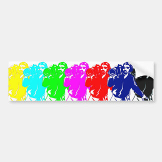 Color Bar Cameramen Bumper Sticker