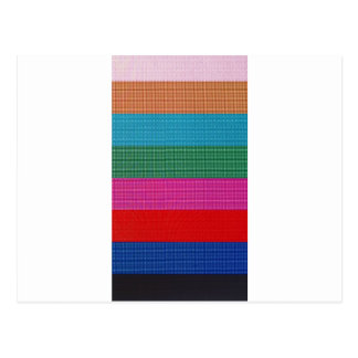 Color bars postcard