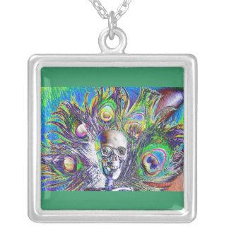 Color Blast Skull Necklace