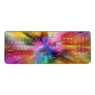 Color Blast Wireless Keyboard
