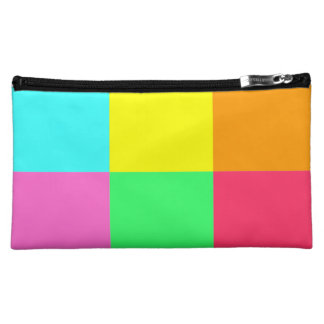Color Block Party_Where did you get that?! Cosmetic Bag