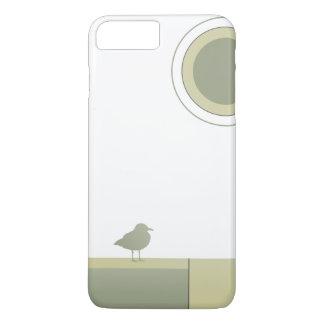 Color Block Seagull Phone Case