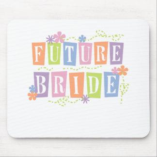Color Blocks Future Bride Mouse Pad