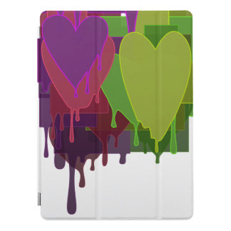"Color Blocks Melting Hearts 12.9"" iPad Pro Cover"