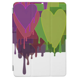 "Color Blocks Melting Hearts 9.7"" iPad Pro Cover"