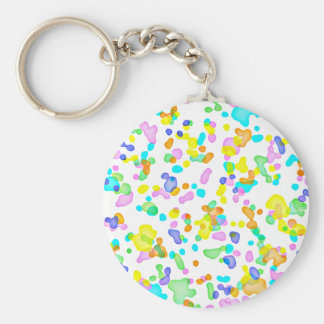 Color Blots Keychain