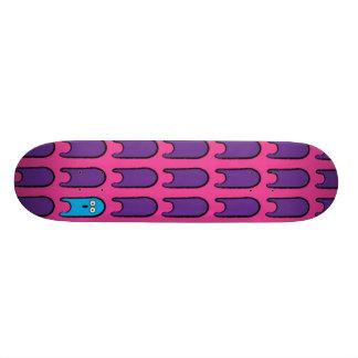 Color Blue 18.1 Cm Old School Skateboard Deck