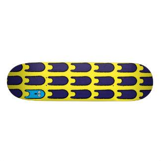 Color Blue 20.6 Cm Skateboard Deck