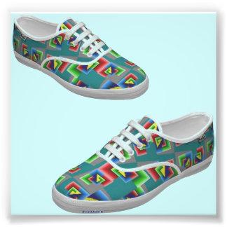 Color box shoes photo