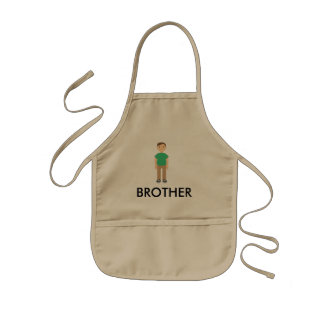 COLOR BROTHER CHARACTER APRON
