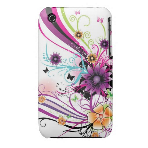 Color Burst Case iPhone 3 Case-Mate Cases