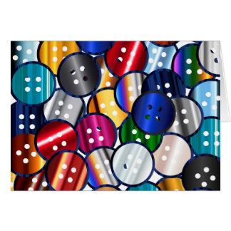 Color Button Collection Card