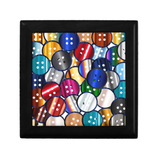 Color Button Collection Gift Box