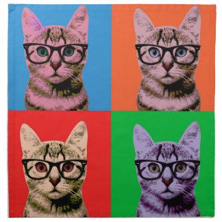 Color Cat Napkin