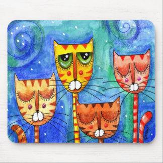Color Cats - Mousepad