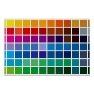color chart texture pattern background code palett poster