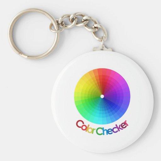 Color Checker Spectrum Keychains