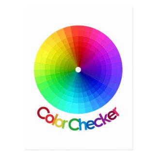 Color Checker Spectrum Postcard