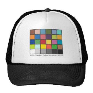 Color Checker Table Hats