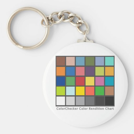 Color Checker Table Keychain
