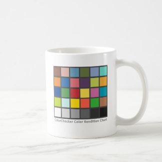 Color Checker Table Coffee Mugs