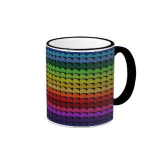 Color Chips Ringer Mug