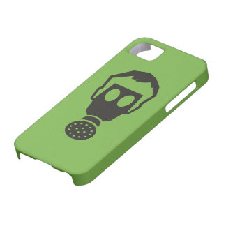 """Color Choice """"Gas Mask"""" Pictogram Case For The iPhone 5"""