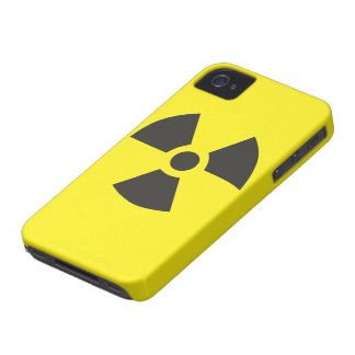 "Color Choice ""Radioactive"" Pictogram iPhone 4 Case-Mate Cases"