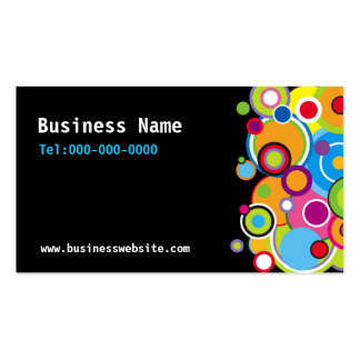 Color Circles Business Card