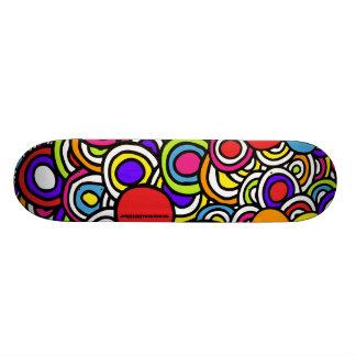 Color Circles - Deck Skate Board