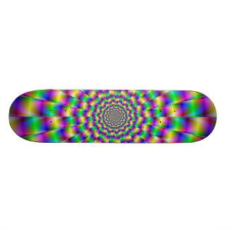 Color Circles Skateboard