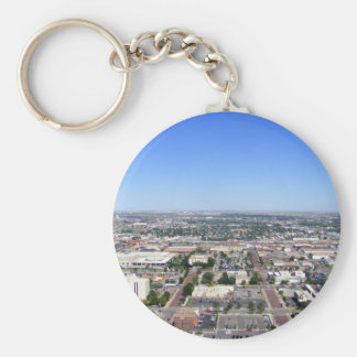 Color Cityscape Keychain