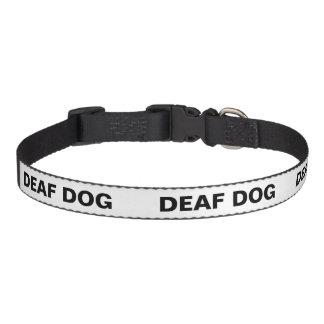 Color Coded Dog Temperament Collar - Deaf Dog Pet Collars