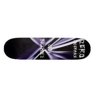 color, CODYBUCKHOLZ, ZERO, TOLERANCE Skate Board Deck