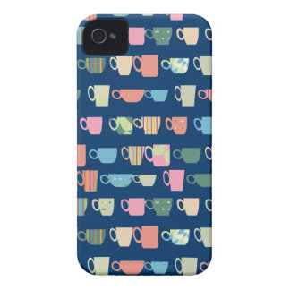 Color Coffee Cups iPhone 4 Case-Mate Cases