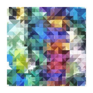 Color Collage Canvas Print