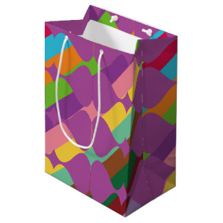 Color Combination Medium Gift Bag
