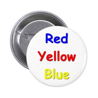 Color Confusion 6 Cm Round Badge