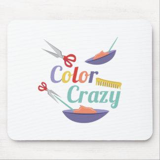 Color Crazy Mouse Pad