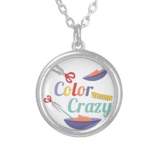 Color Crazy Round Pendant Necklace