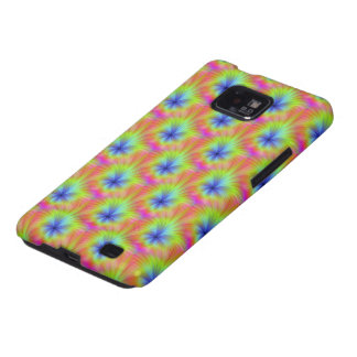Color Crop Flower Samsung Galaxy SII Covers
