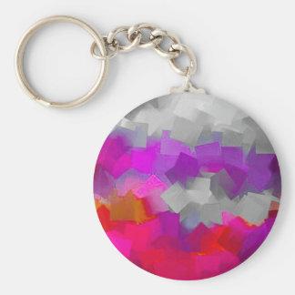 Color Cube Craze Key Chain