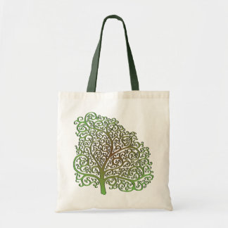 Color CurliQ Tree Bag