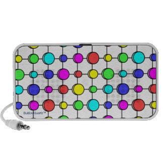 Color dots doodle speaker