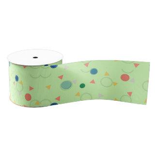 Color Dots Ribbon for Cake Decoration Grosgrain Ribbon