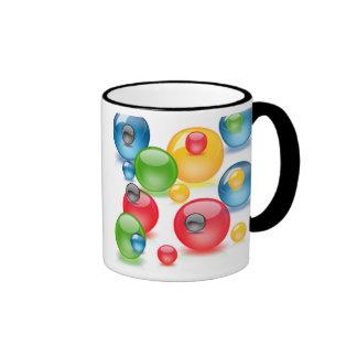 Color Drops Ringer Mug