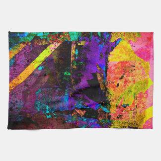 Color embankment tea towel