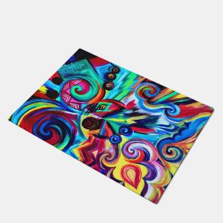 Color Explosion Doormat