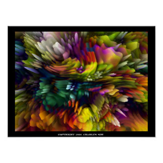 Color Explosion Print
